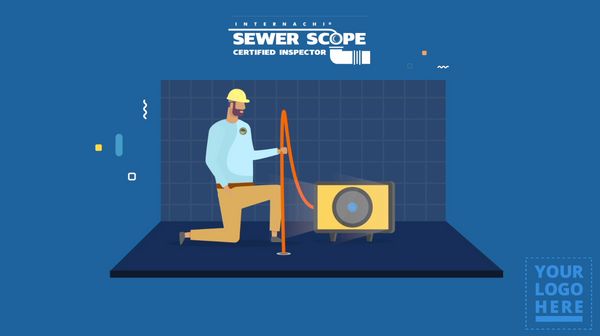 Custom-Branded Sewer Scope Inspection Video