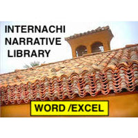 InterNACHI Narrative Library for Microsoft Word/Excel