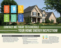 "Home Energy Inspection Brochure ""Contact Me"""