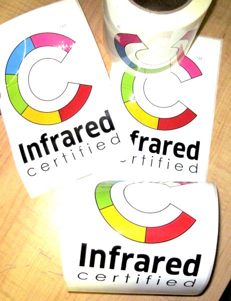 Free Infrared Certified Decals