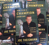 How to Be a Champion Every Day Book