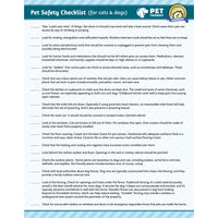 Free Pet Safety Checklist
