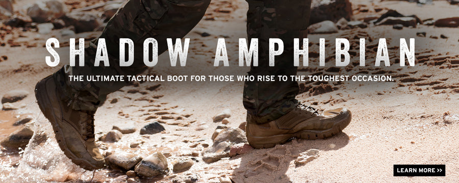 Drainable Tactical Boots for Men
