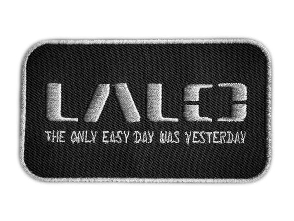 LALO Woven Patch with Grey | Accessories - LALO USA | Tactical and Athletic Footwear