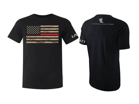LALO Guardian Tee honoring firefighters and other first responders