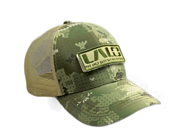 LALO Trucker patch hat jungle green