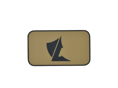 LALO Shield PVC Patch - Tan | Accessories - LALO USA | Tactical and Athletic Footwear