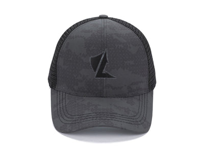 LALO Camo Trucker Hat Black Main image