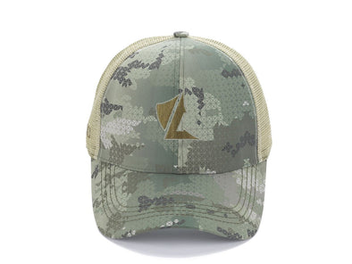 LALO Camo Trucker Hat Jungle Green Main image