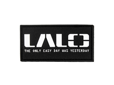Only Easy Day PVC Patch | Accessories - LALO USA | Tactical and Athletic Footwear