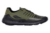 Zodiac Recon Running Trail Shoe Side Image Jungle Green