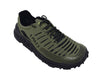 Zodiac Recon Running Trail Shoe 3qtr view Jungle Green