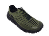 Zodiac Recon Running Trail Shoe 3 qtr view Image Jungle green