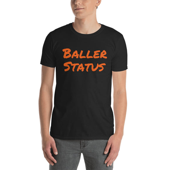 Baller Status - Short-Sleeve Men's T-Shirt