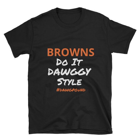 Browns Dawggy Style - Short-Sleeve Unisex T-Shirt