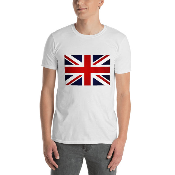 British Flag - Short-Sleeve Men's T-Shirt