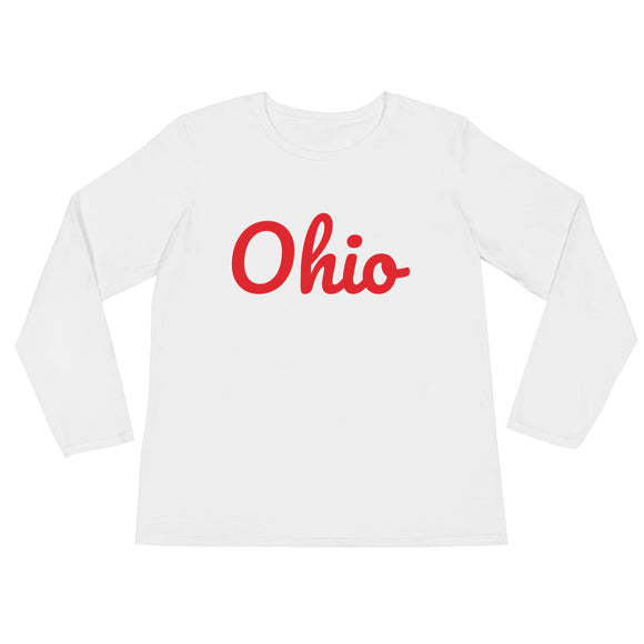 Ohio - Ladies' Long Sleeve T-Shirt