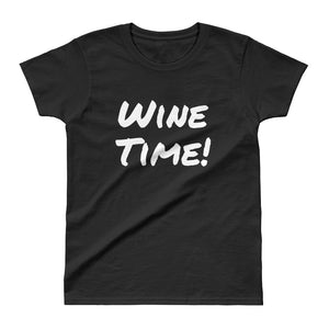Wine Time - Ladies' T-shirt