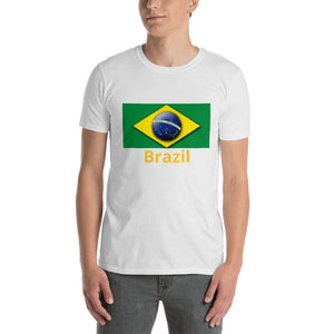 Brazil Flag - Short-Sleeve Men's T-Shirt