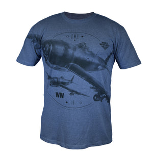 World of Warplanes Deluxe T-Shirt - 'Squadron'