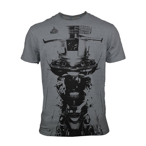 World of Warships Deluxe T-Shirt - 'Cast Iron'