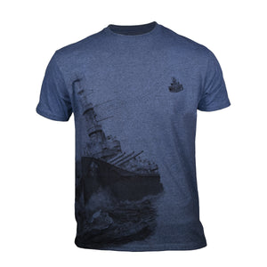 World of Warships Deluxe T-Shirt - 'Broadside'