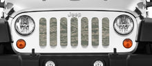 Air Force Tiger Stripe Jeep Grille Insert