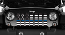 American Black and White Back the Blue Grille Insert