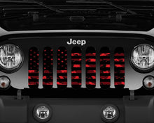 American Red Digital Camo Grille Insert