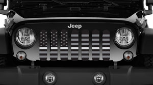 American Tactical Silver Stripe Grille Insert - Corrections