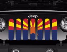 Arizona State Flag Grille Insert