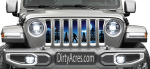Bigfoot Dreamland Moon Grille Insert