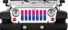 Bisexual Pride Flag Jeep Grille Insert