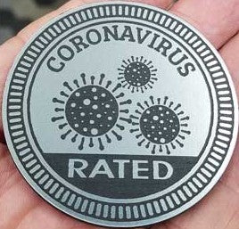 Coronavirus Jeep Badge  ***  Limited Quantity!  ***