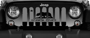 Tactical California Republic Jeep Grille Insert
