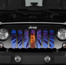 Carolina Christmas Jeep Grille Insert