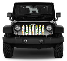 Christmas Cheer Jeep Grille Insert