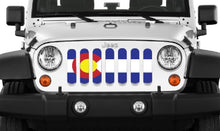 Colorado State Flag Grille Insert