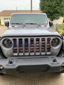 Dirty Grace Jeep Grille Insert
