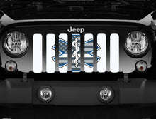EMS Shield- White- Jeep Grille Insert