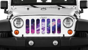 Waa Waa White Space Jeep Grille Insert