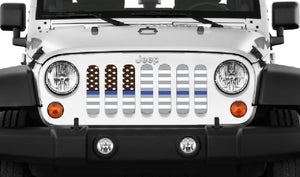 American Ghost Tactical Back the Blue Line Grille Insert