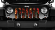 Glowing Branches Jeep Grille Insert