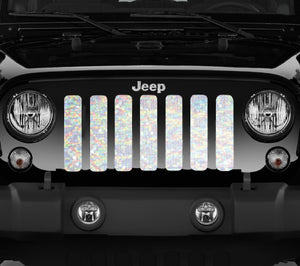 Iridescent Print Jeep Grille Insert