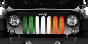 Luck O' The Irish Flag Grille Insert