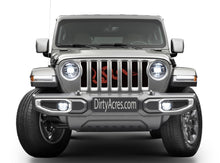 Join Or Die Red Jeep Grille Insert