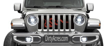 Join Or Die Red Grille Insert