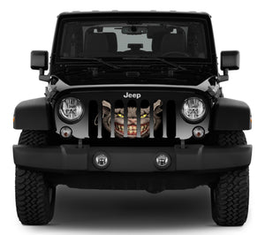 Here Kitty Kitty Jeep Grille Insert