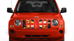 English Rock Jeep Grille Insert