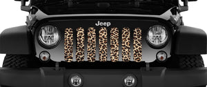 Leopard Print Grille Insert